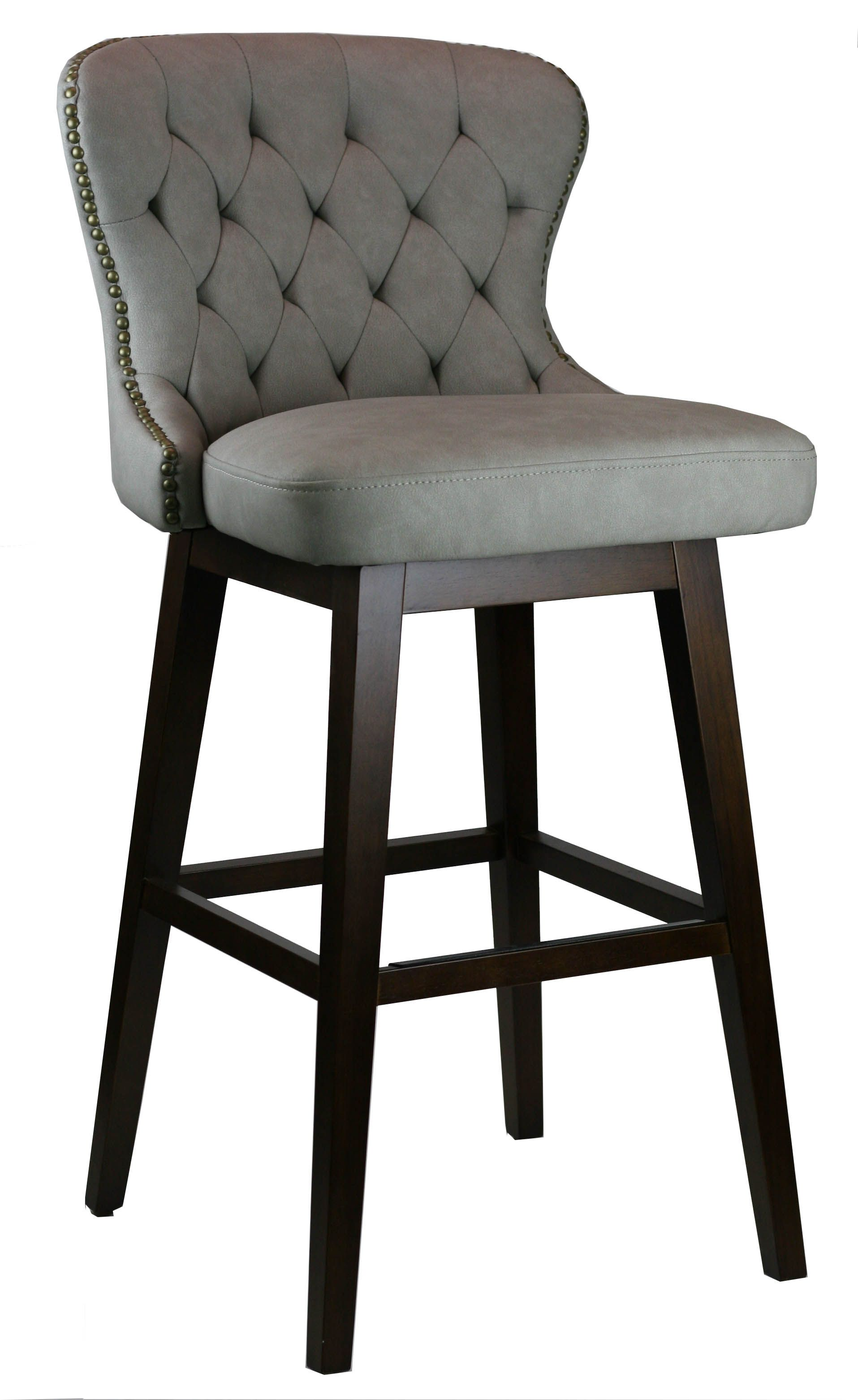 Awe Inspiring Black Tufted Swivel Counter Stool In 2019 Bar Stools Bar Pabps2019 Chair Design Images Pabps2019Com