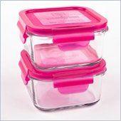 Wean Sandwich Cubes 2-pack 490mL in Raspberry - GL441R