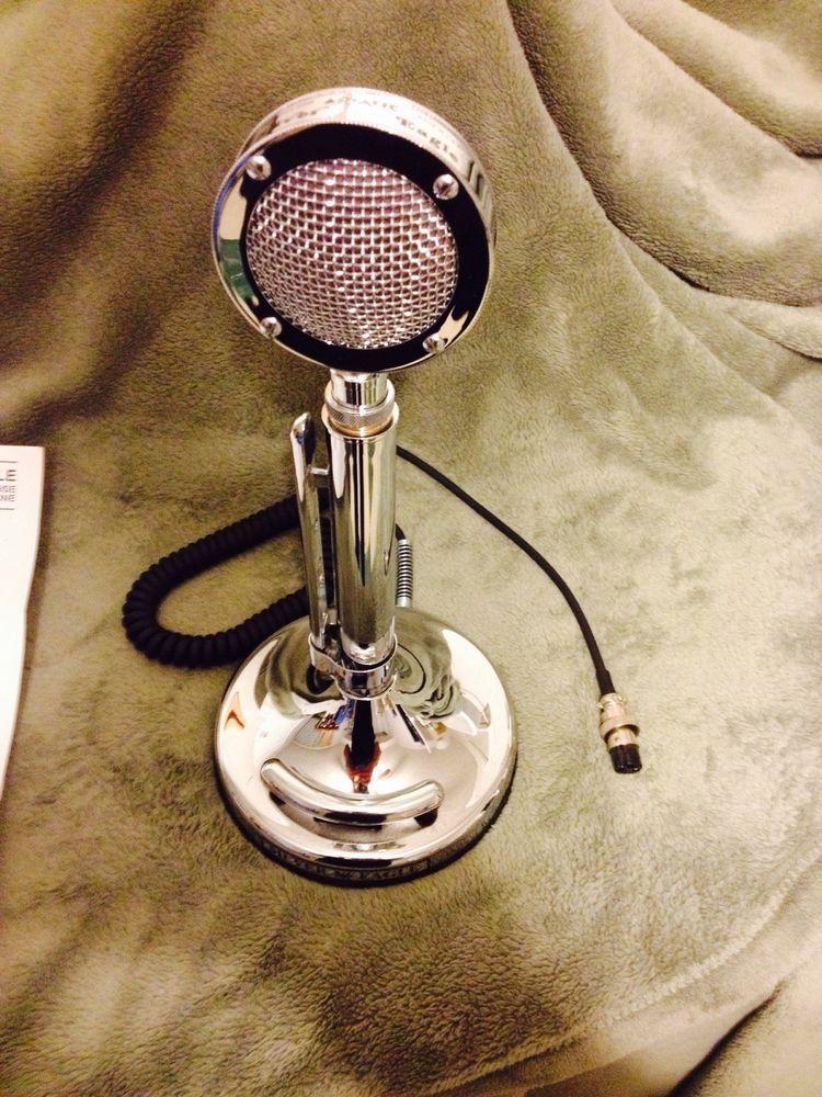 7b1eb4fa285817fa0381b1e24e8aedd6 astatic d104 silver eagle microphone nos mic in box cb ham radio  at crackthecode.co