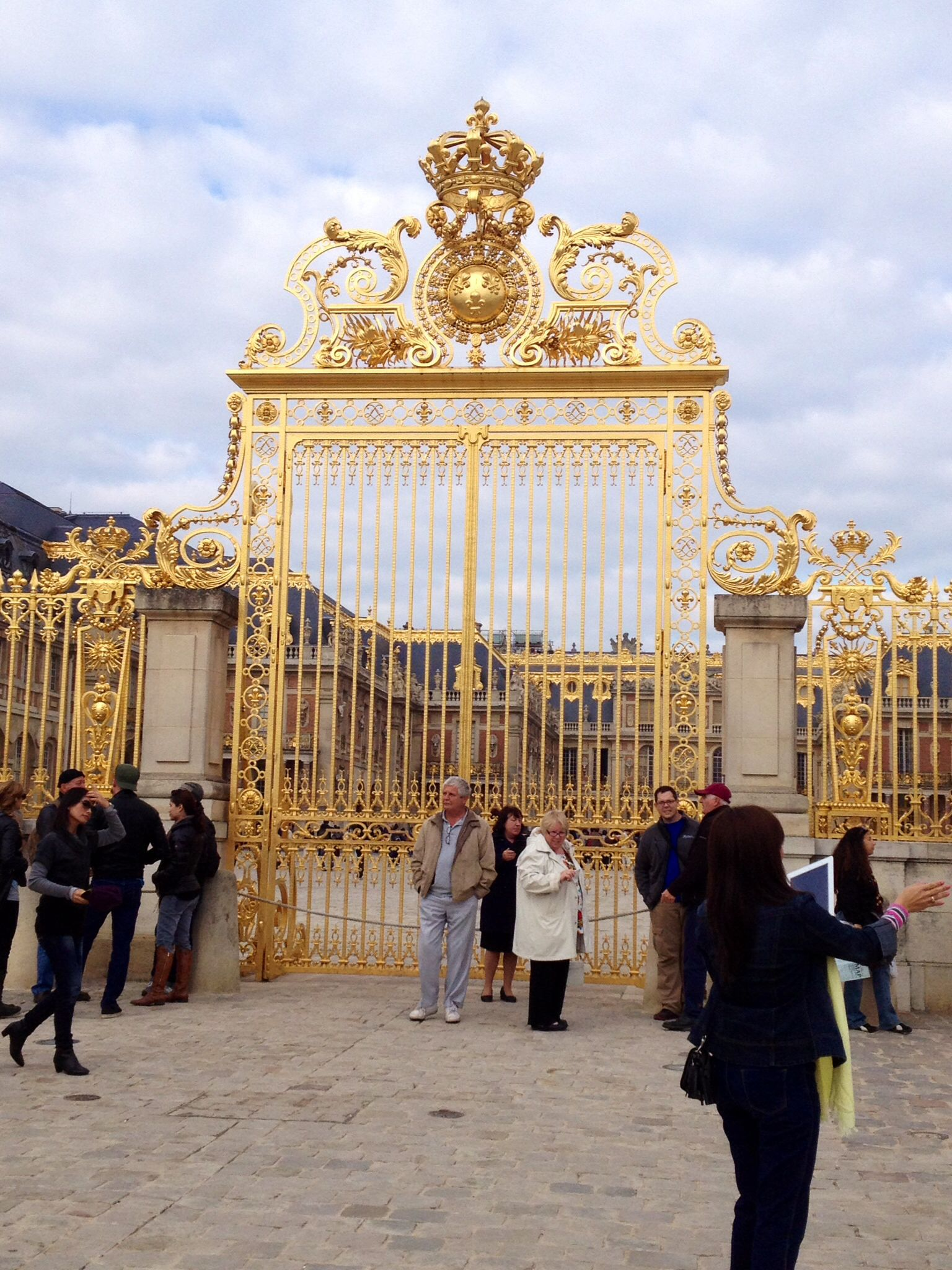 Inner gate of Chateau de Versailles