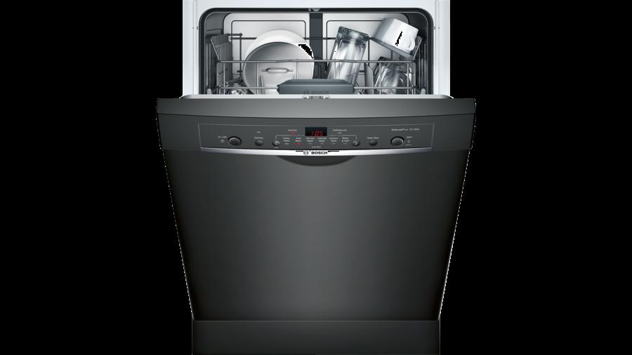Shop Bosch Ascenta 50 Decibel Built In Dishwasher Black Common