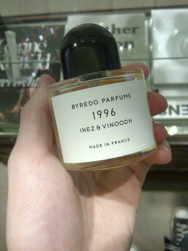 Do Ingredients dorazilo posledních 12 kusů limitky 1996 od Byredo. Je to love at first sight/smell. První várka se prodala během jednoho dne...