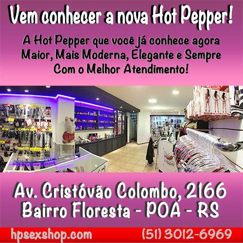Sex Shop Hot Pepper em Novo Endereço