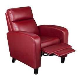 Fabulous Boston Loft Furnishings Bickone Vibrant Woman Red Faux Gamerscity Chair Design For Home Gamerscityorg