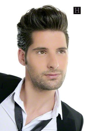 Mens Hairstyles How To This Is A Pompadour Mens Hairstyle Style