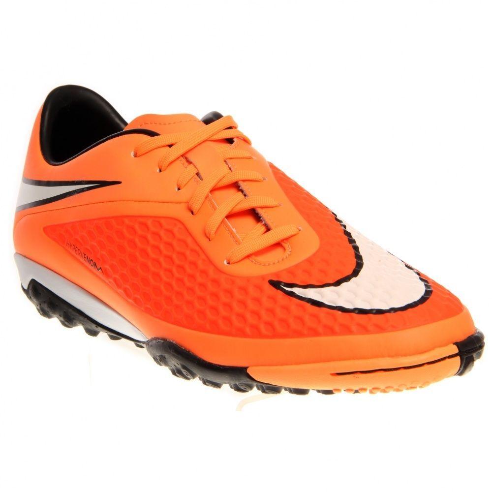 NEW NIKE HYPERVENOM PHELON TF Soccer Futbol MENS Hyper Crimson Atomic Orange  #Nike