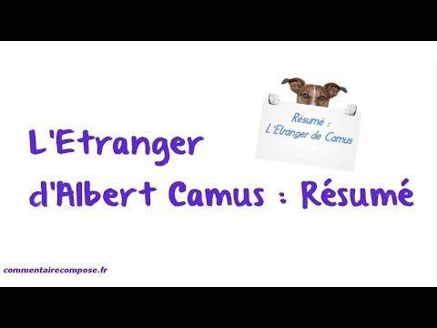 L\'Étranger - Albert Camus (audiobook + texte/sous-titres) - YouTube ...