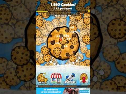 Free iOS and Android Game Cookie Clickers™ Gameplay