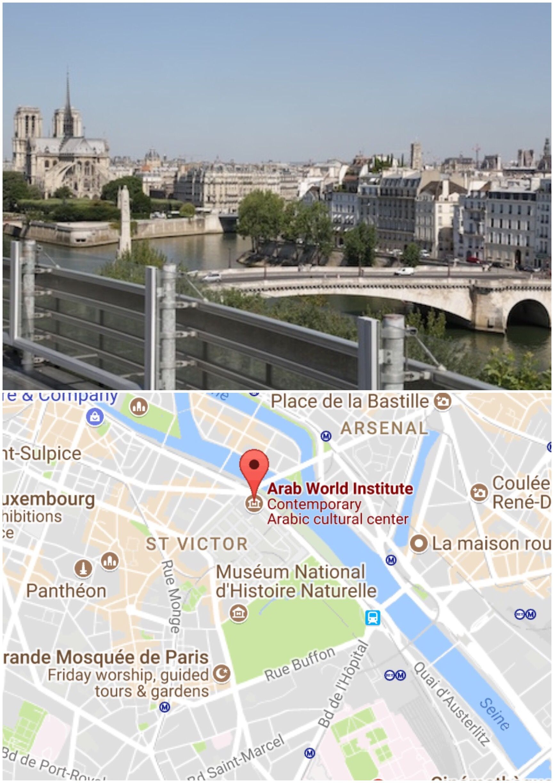 Rooftop Cafe Arab World Institute Paris Paris Tours Rooftop