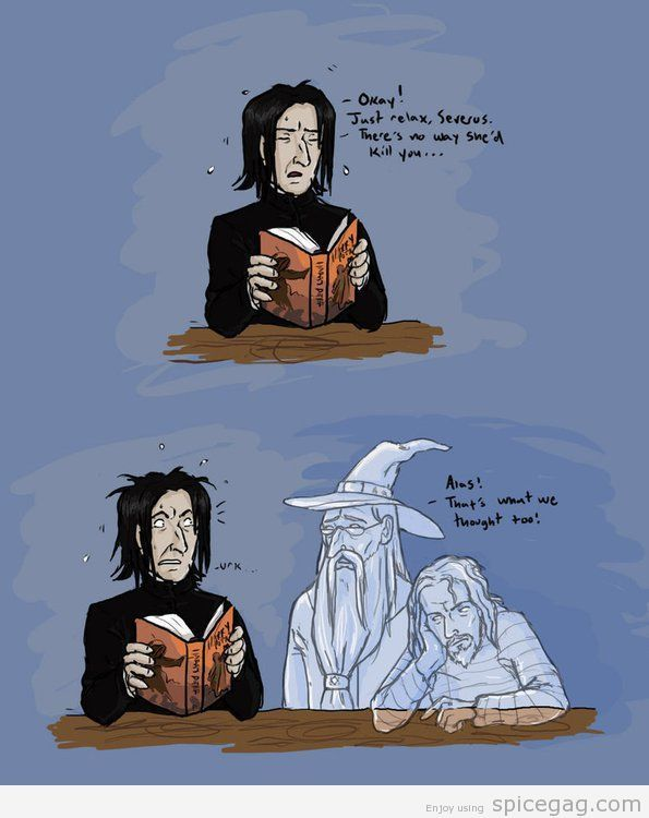 Not Snape!! D=