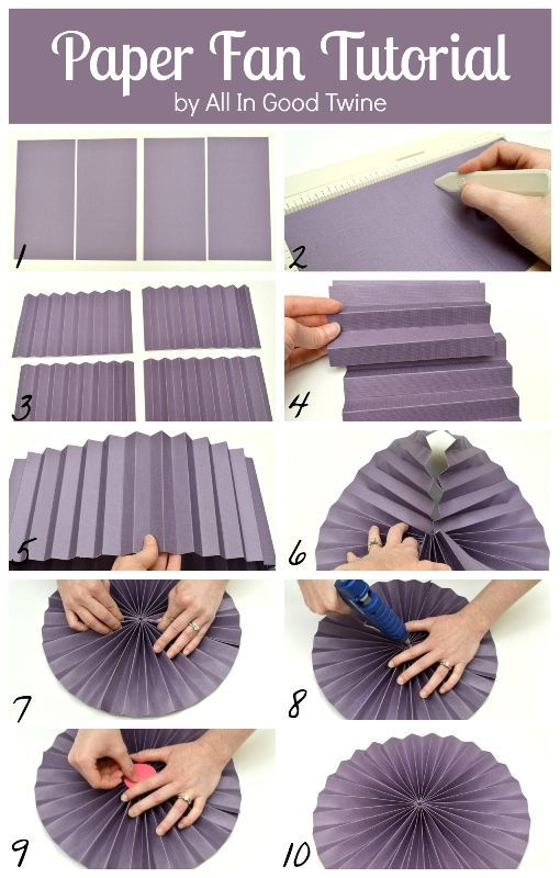 Paper fan tutorial via all in good twine craft diy create paper fan tutorial via all in good twine paper fan decorationsdebut decorationsdiy solutioingenieria Image collections