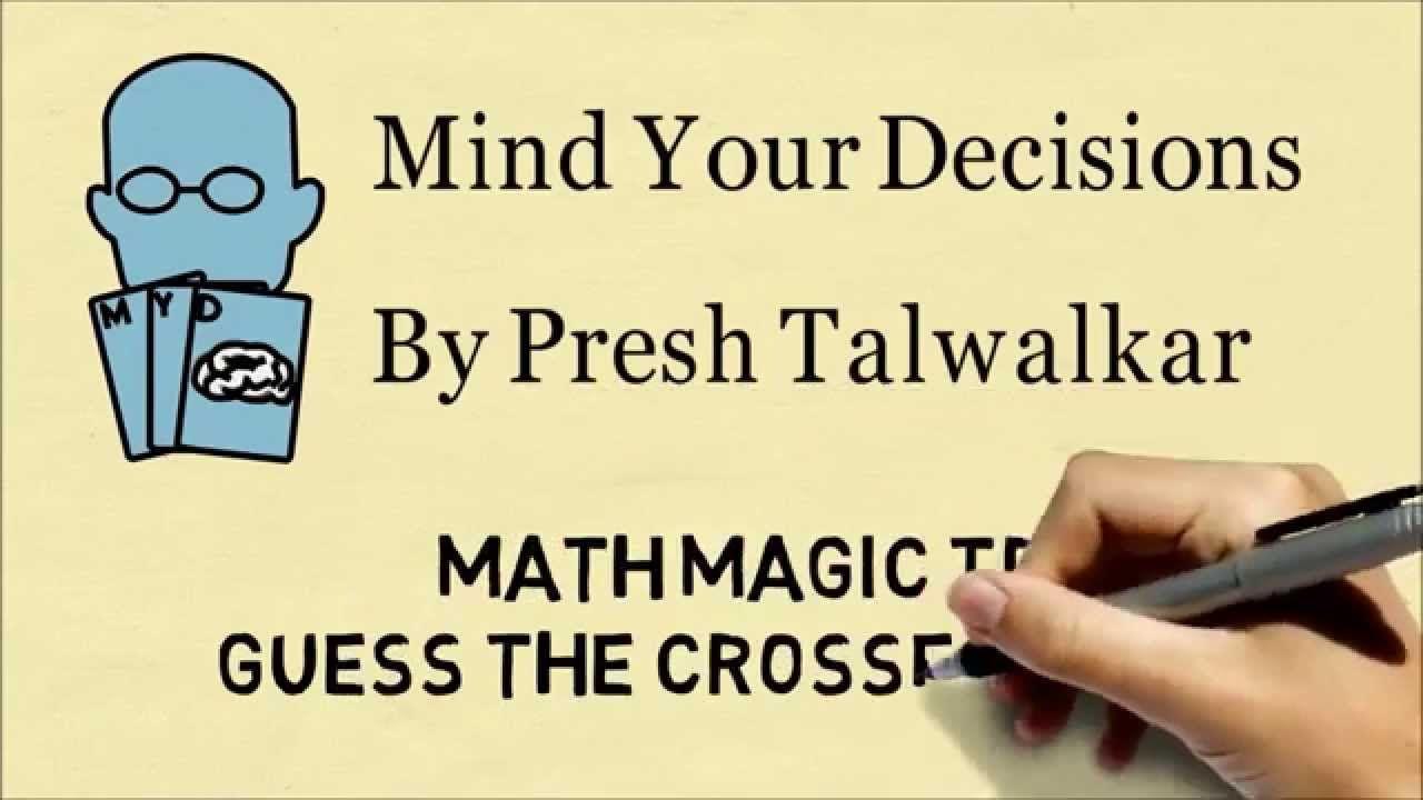 A Neat Math Magic Trick: Guessing A Crossed Out Digit | Magic Tricks