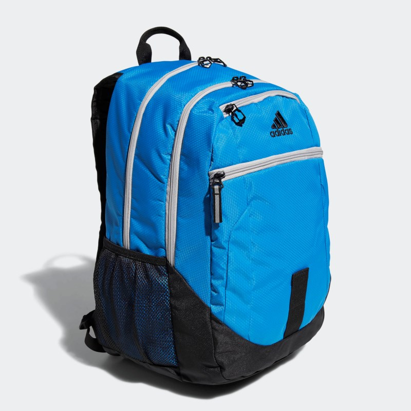 d738346202e8 Adidas Foundation IV Backpack Accessories (Bright Blue Grey Two)