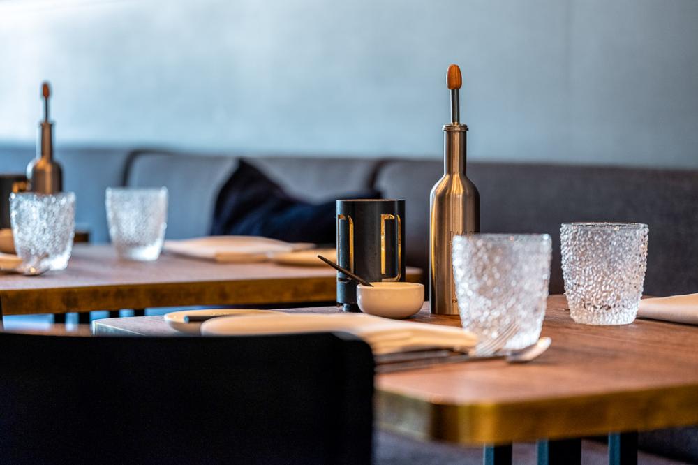 The Interior Of Restaurant Daalder Of Chef Dennis Huwae In
