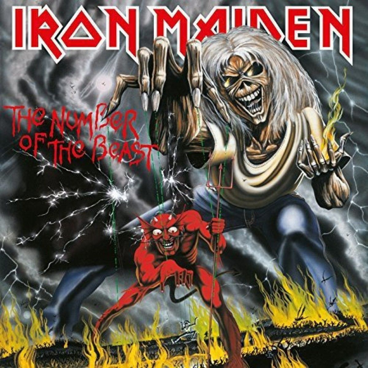 Iron Maiden The Number Of The Beast Vinyl Iron Maiden Albums