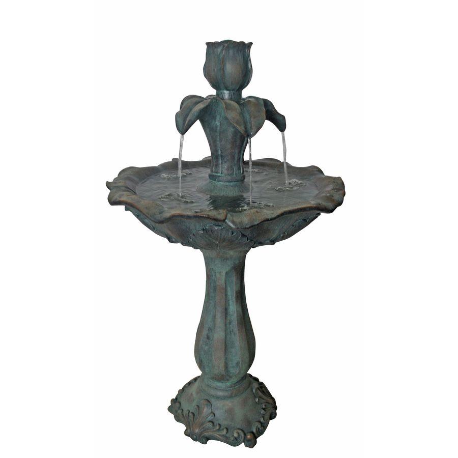 Shop Garden Treasures Fountain 2 Tier Indoor Outdoor 400 x 300