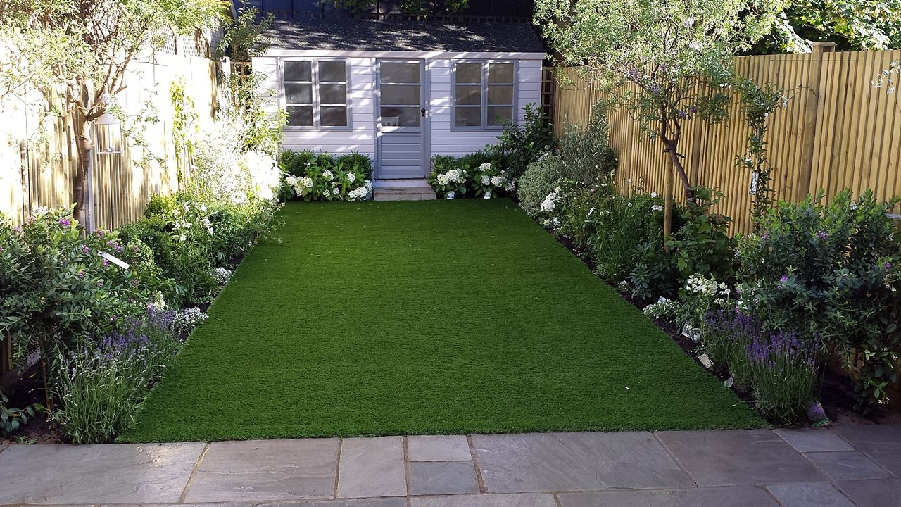 Modern Low Maintenance London Garden Design | Easy garden ...