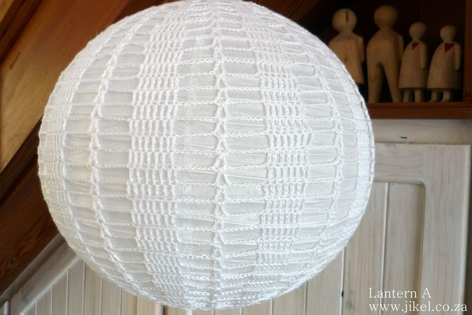 Lantern 40cm by Jikel - anything crochet