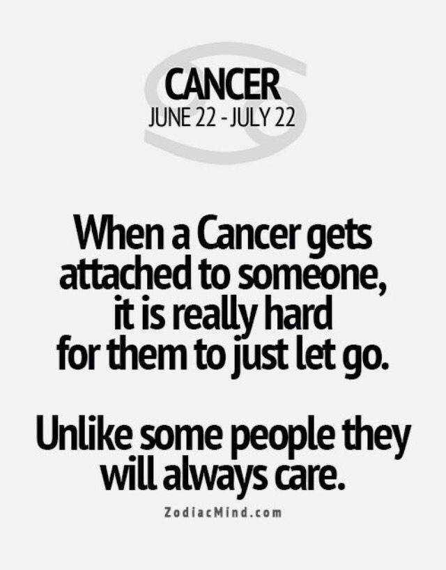 I'm a cancer