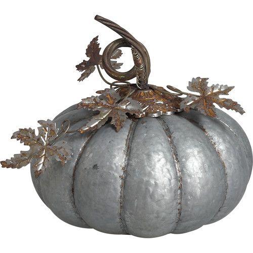 Found it at AllModern - Halloween Galvanized Pumpkin