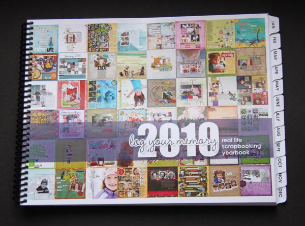Log Your Memory 2010 Real Life Scrapbooking Yearbook Lucky 13