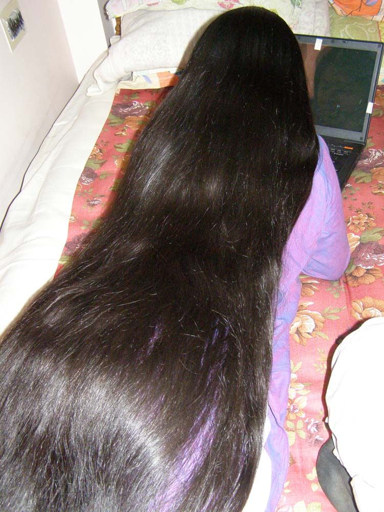 Indian long hair play-7666