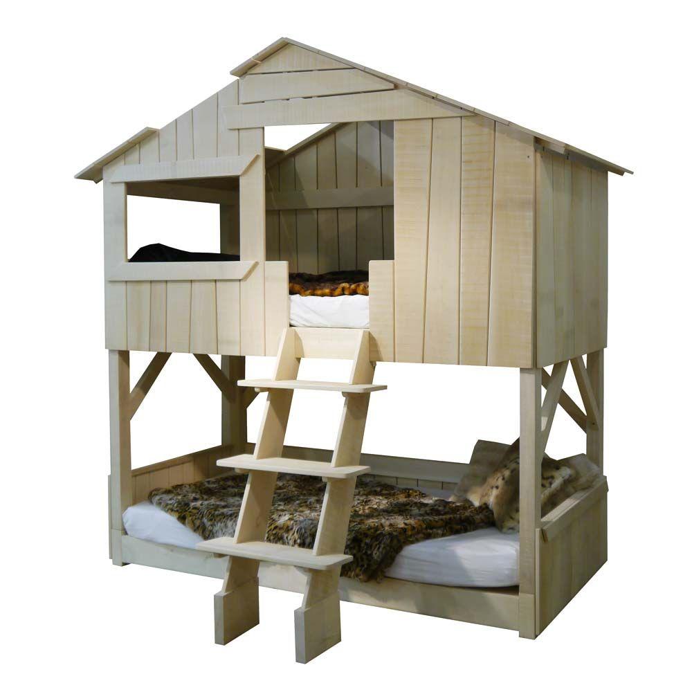 Kinderbett baumhaus  Und? So ein tolles Kinderbett schon mal gesehen? Das Bett von ...
