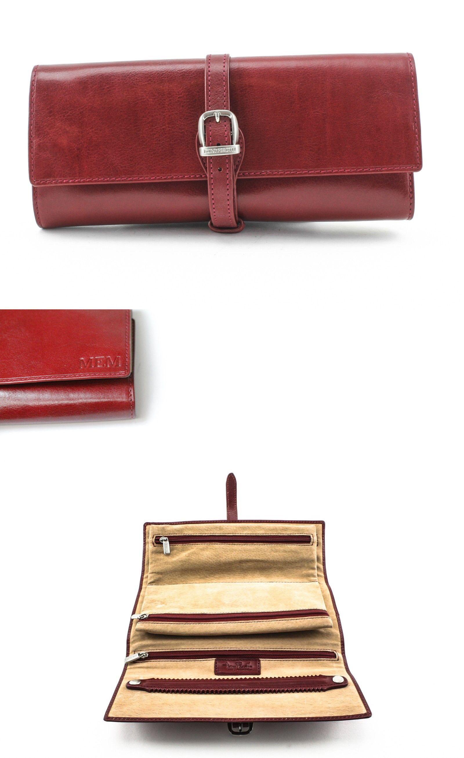 Other Jewelry Organizers 164372 Tony Perotti Italian Leather Grande