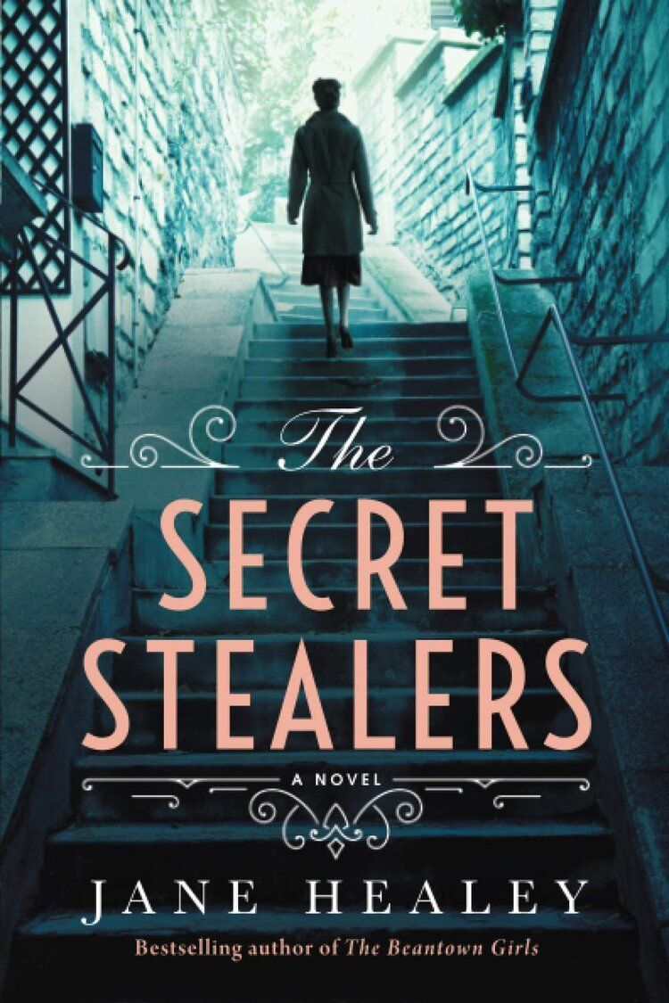 Book feature the secret stealers by jane healey book