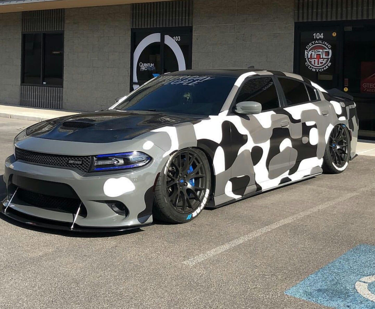Camo Charger With Images Dodge Charger Hellcat Suv Cars