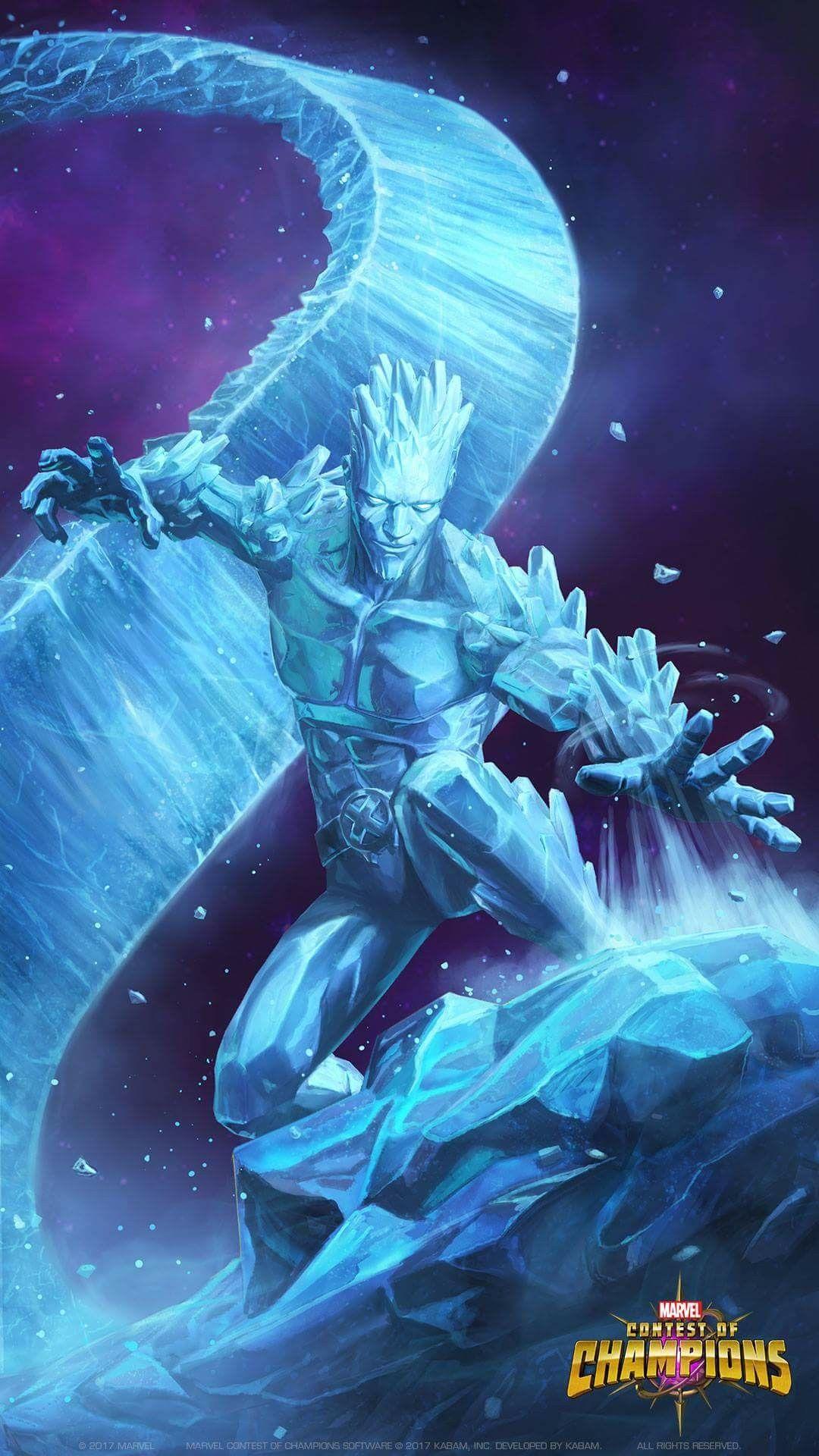 Ice Man | marvel/DC superheroes | Marvel heroes, Marvel ...