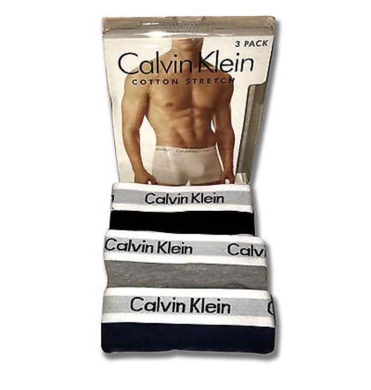 d8e7d1eb4936 Mens Calvin Klein Best Boxers Trunk Briefs Underwear 3Pack Box ...