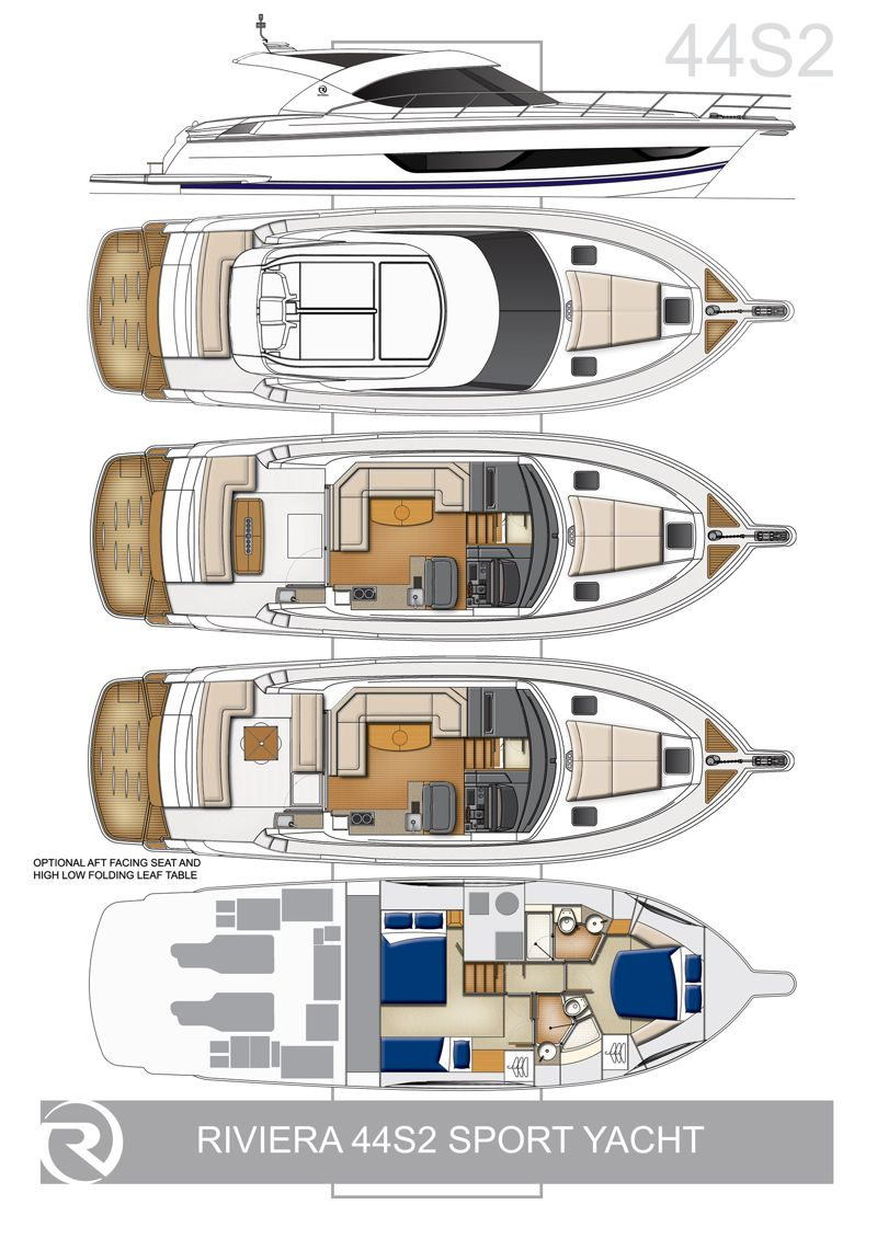 Riviera 4400 Sport Yacht Series Ii With Ips