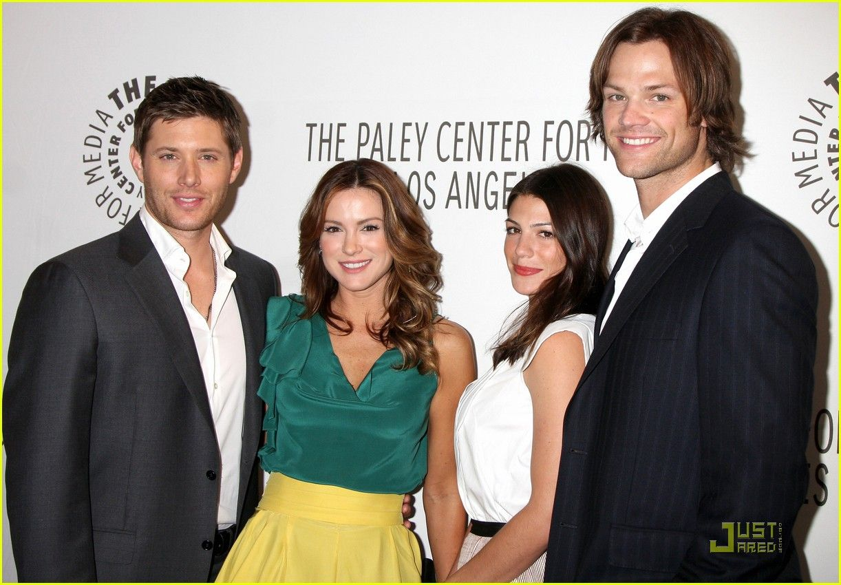my favorite celebrity bromance: Jensen Ackles & Jared Padalecki with their wives