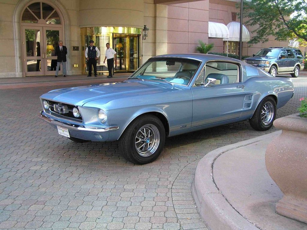 1967 Mustang Recreation. For more, click http://www.autoguide.com ...