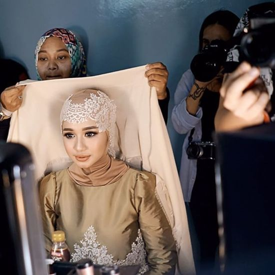 Hijab Style Moment Laudya Cynthia Bella 39 S Look On Sunsilk Hijab Hunt 2015 Style Whimsical