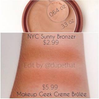 Dupethat Makeup Geek Creme Brulee Dupes Makeup geek