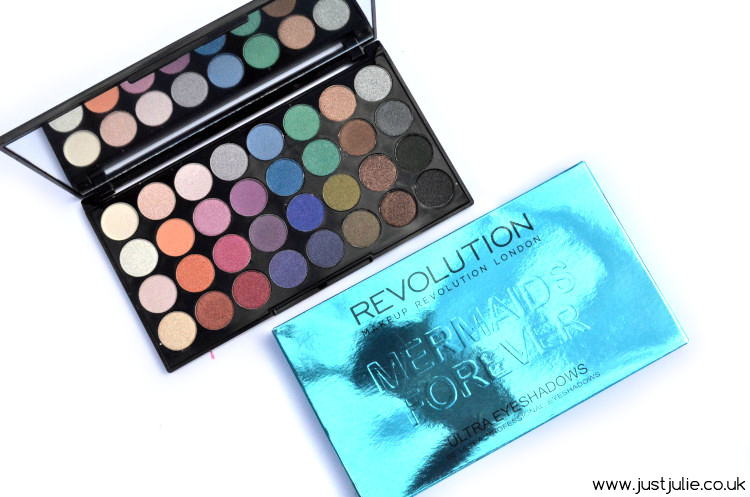 Makeup Revolution Mermaids Forever Eyeshadow Palette