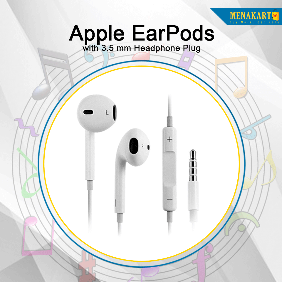 Shop For New Apple Earpods With 3 5 Mm Headphone Plug Online Headphone Plugs Apple
