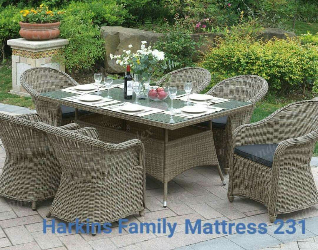 condo outdoor furniture dining table balcony. Cottage 7 Pc Outdoor Patio Dining Set Glass Table Tan Wicker Arm Chair High Back * To View Further For This Item, Visit The Image Link. Condo Furniture Balcony E