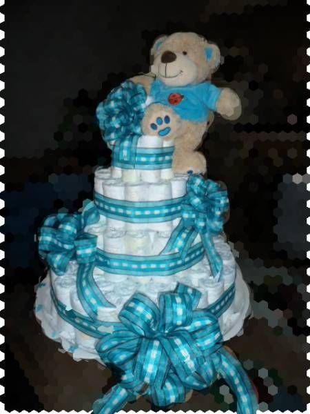 fotos de pastel de pa ales para baby shower baby shower