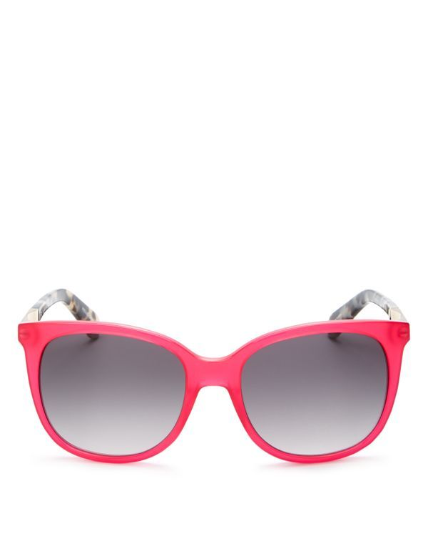 kate spade new york Juliana Rounded Square Sunglasses, 55mm