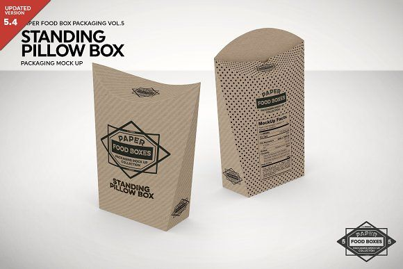 Download Free Psd Mockup Download Standing Pillow Box Packaging Mockup Photoshop Smart Layers Pillow Box Free Packaging Mockup Packaging Mockup