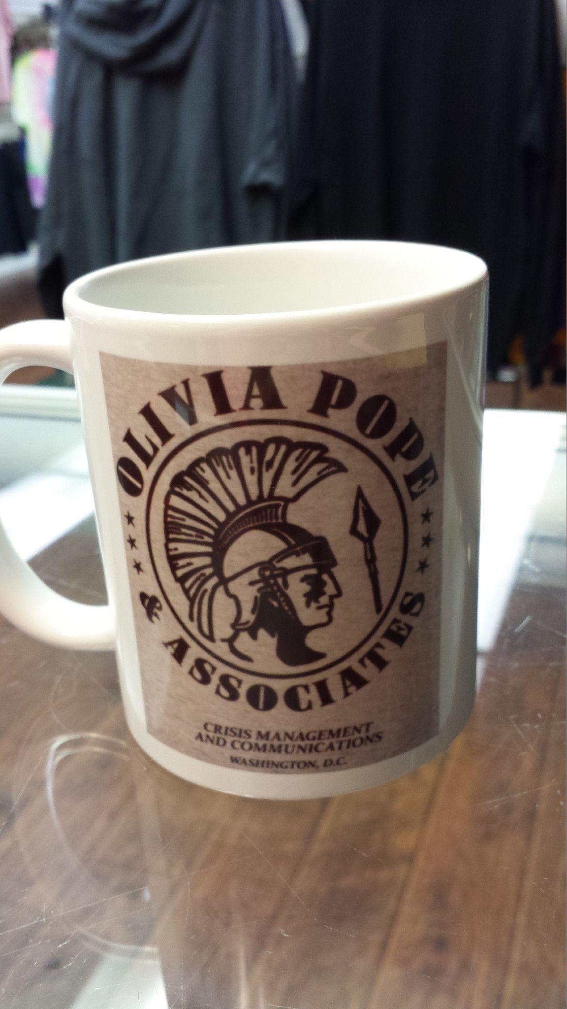 Olivia Pope and Associates Scandal coffee mug