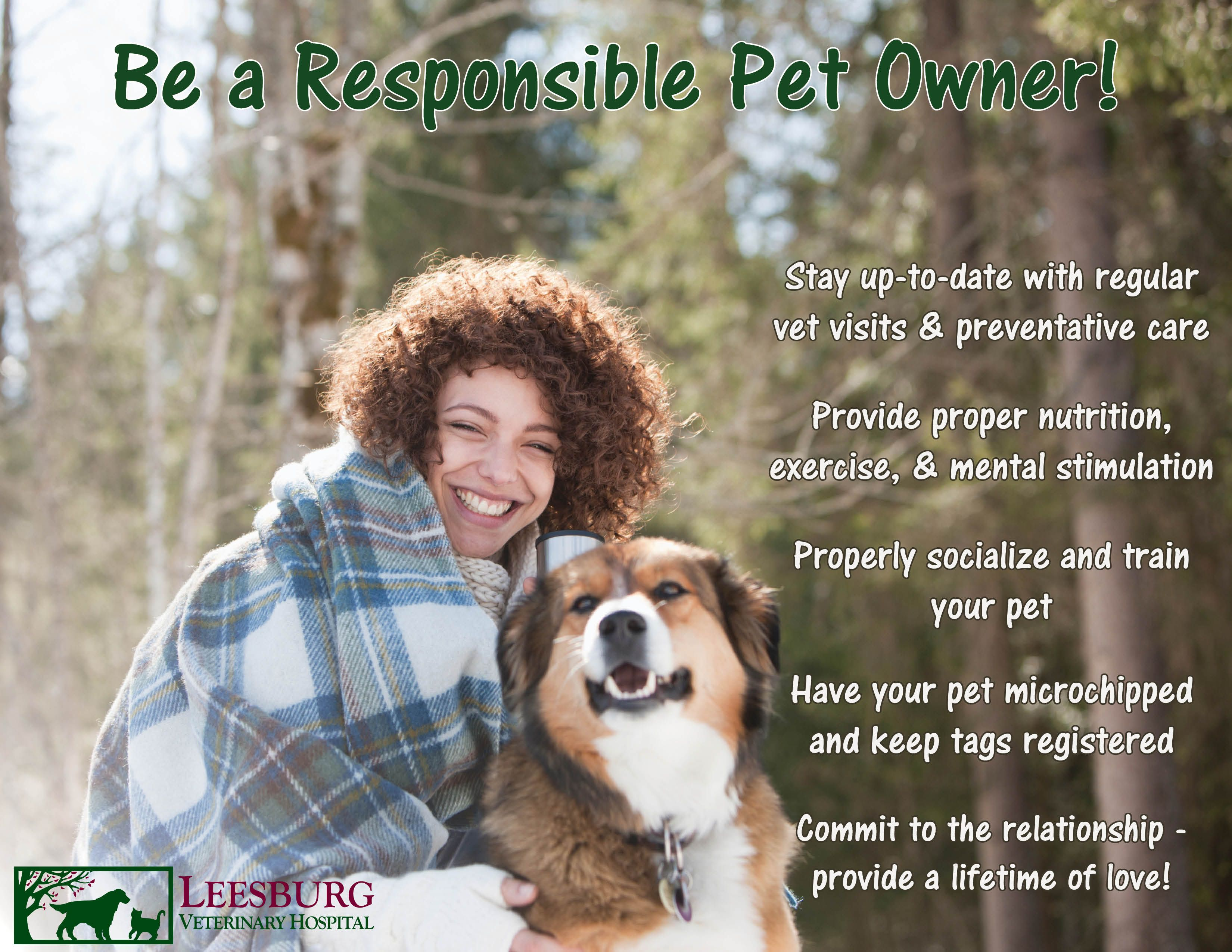 "February is ""Responsible Pet Owner"" Month"