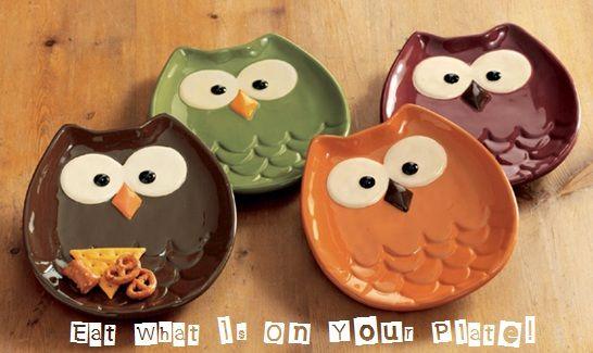 owl plate-Love Kayleigh