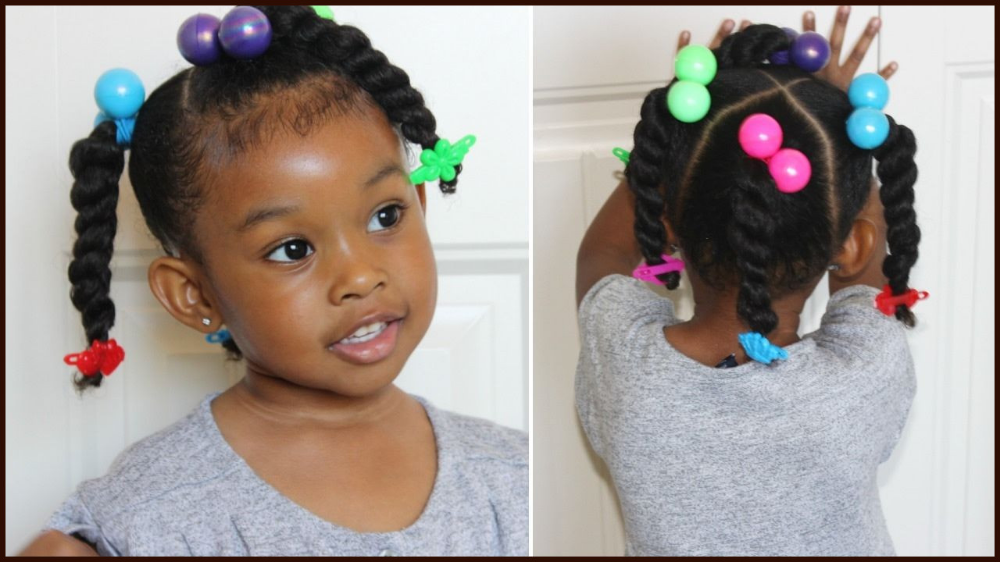 22 African American Toddler Ponytail Hairstyles From Black Children Ponytail Hairstyle Little Girls Natural Hairstyles Girls Natural Hairstyles Kids Hairstyles
