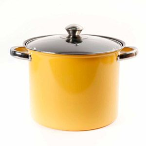 Gibson Home Colorsplash 7 5 Quart Stock Pot In Green