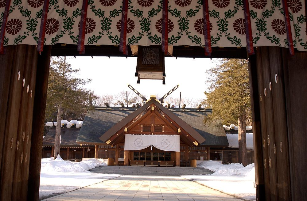 Hokkaido JIngu ( Hokkaido Shrine ) 北海道神宮