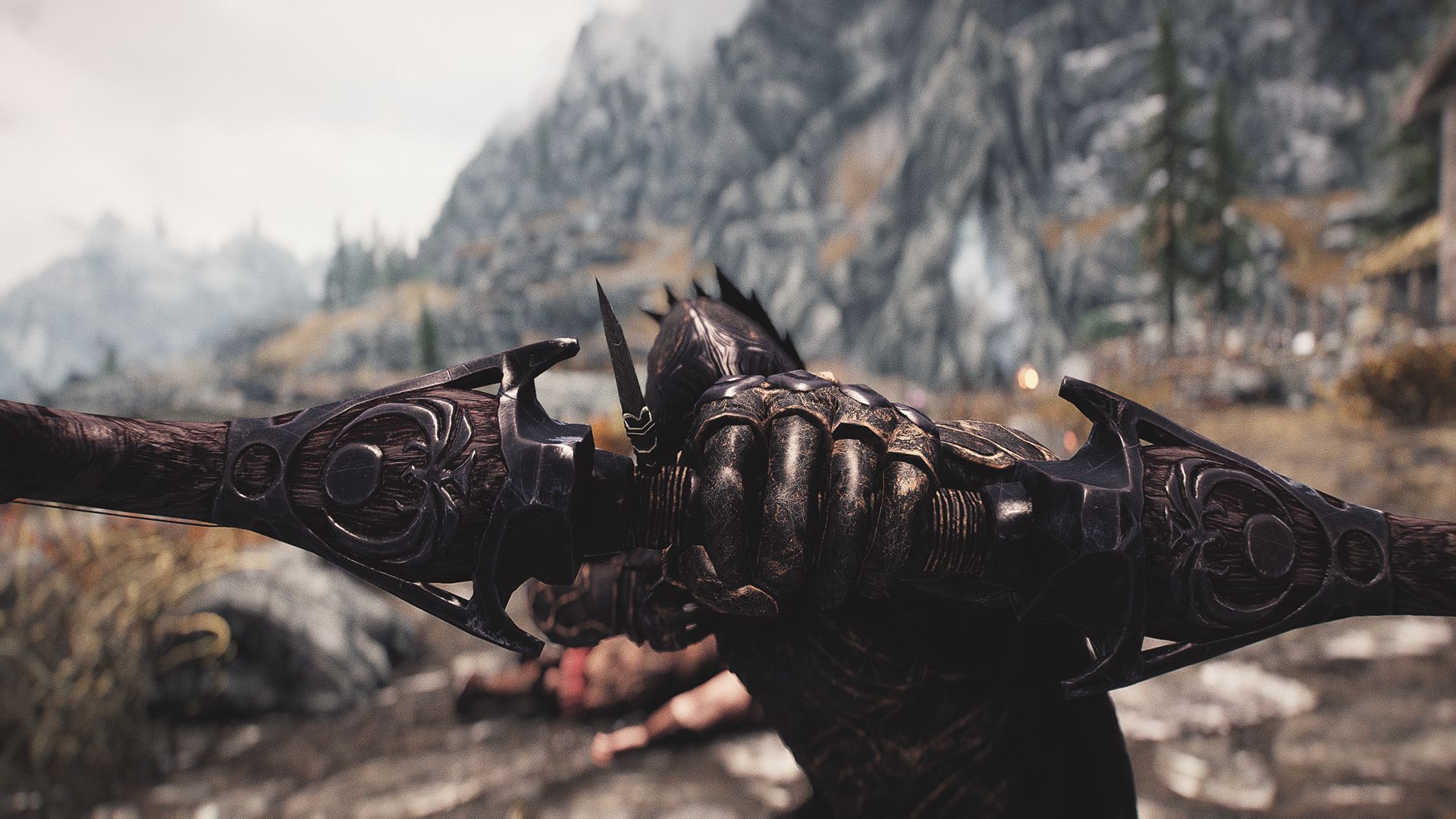 Frankly HD Nightingale Armor and Weapons at Skyrim Special